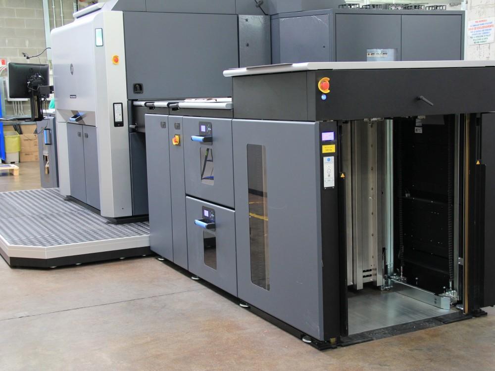 Installata una nuova HP Indigo 12000