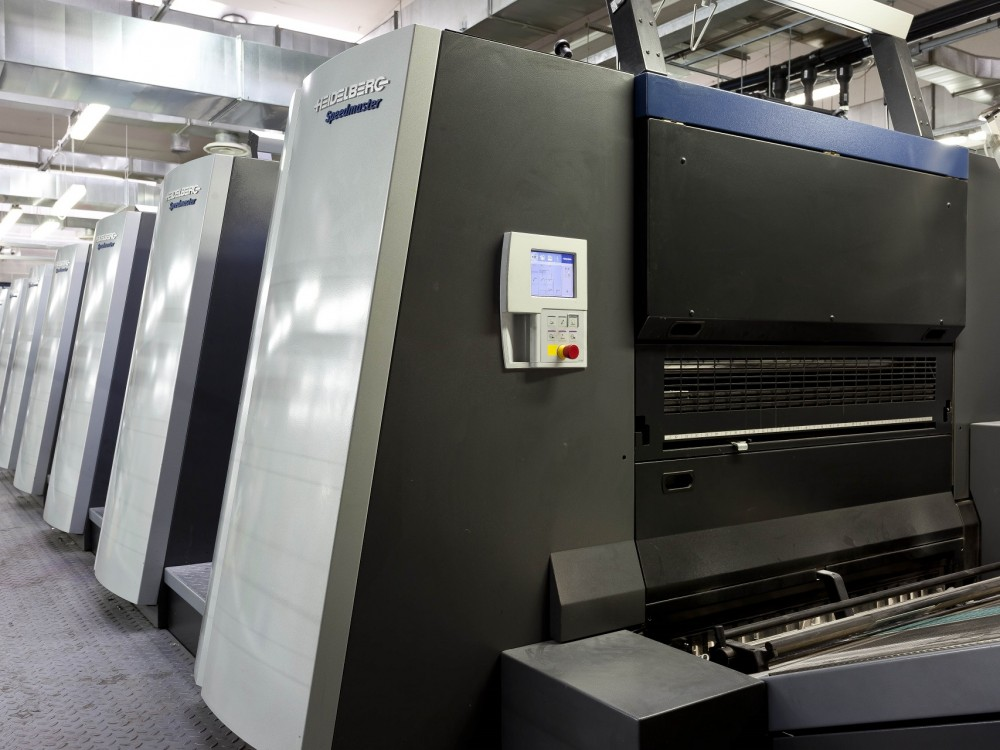 New Heidelberg Speedmaster XL106 LE UV in production at Nava Press
